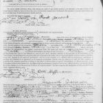 Petition for Naturalization for Frank Janecek - Page 1